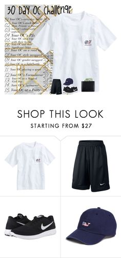 """""""Day 9 gender swap rtd for rant"""" by ajgswim on Polyvore featuring Vineyard Vines, NIKE, Status Anxiety, men's fashion and menswear"""
