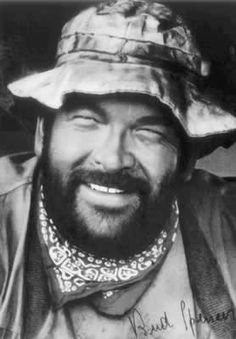 Picture of Bud Spencer Movie Theater, I Movie, Movie Stars, Black N White Images, Black And White, Retro Hits, Bud Spencer, Terence Hill, Mario