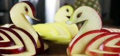 How To Turn An Ordinary Apple Into A Deliciously Artful Swan