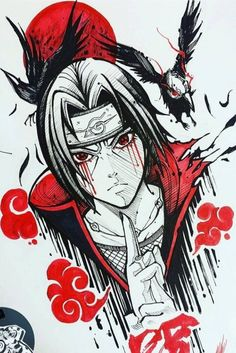 Do u like itachi Uchiha? Naruto Shippuden Sasuke, Itachi Uchiha, Wallpaper Naruto Shippuden, Naruto Wallpaper, Naruto Drawings, Naruto Sketch, Naruto Art, Anime Sketch, Naruto Tattoo