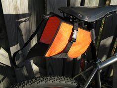 Make Your Own Bikepacking gear - Page 2 Bike Seat Bag, Bicycle Bag, Tandem, Homemade Frames, Bikepacking Bags, Big Ride, Camping Photo, Bicycle Storage, Frame Bag