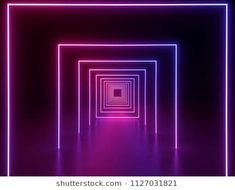 render ultraviolet neon square portal glowing lines tunnel corridor virtual reality abstract fashion background violet neon lights arch purple pink vibrant colors laser show Dance Background, Fashion Background, Background Images, Games Room Inspiration, Light Tunnel, Corridor Design, Neon Design, Diy Design, Laser Show