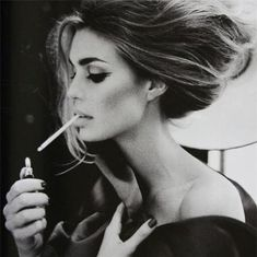 party cigars black and white | babe beautiful beauty black and white cig cigar beauty