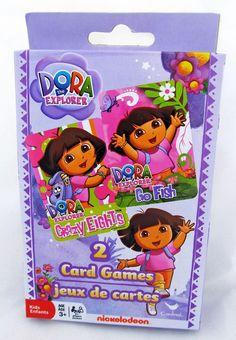 PBS Kids Dora the Explorer Crazy Eights Card Game Pack Set Easter Basket Stuffer #DoratheExplorer