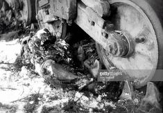 The body of American GI James G Fair under a tank near Bihain Belgium Battle of the Bulge World War II January 1945 Weird Pictures, Stock Pictures, Bathroom Designs Images, My War, War Photography, Illustrations, War Machine, History Facts, Military History