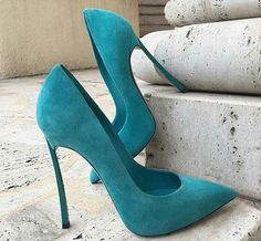 Suede and turquoise... Simply drop dead gorgeous