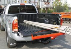 Hitch Mounted Load Extender