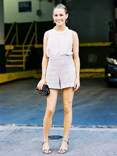 High Heels and Shorts: Fashion Do or Don't? via @WhoWhatWear