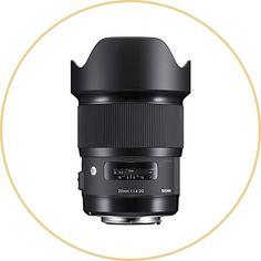 Sigma 20mm F1.4 DG HSM Lens for Nikon DSLRs