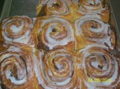 """City School Sweet Rolls"" are a sweet reminder of the homemade foods we enjoyed in the school cafeteria"