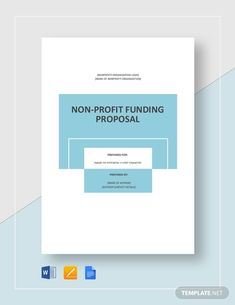 Instantly Download Nonprofit Fundraising Proposal Template, Sample & Example in Microsoft Word (DOC), Google Docs, Apple Pages Format. Available in A4 & US Letter Sizes. Quickly Customize. Easily Editable & Printable. Business Plan Template Word, Spss Statistics, Nonprofit Fundraising, Proposal Templates, Google Docs, Word Doc, Microsoft Word, Non Profit, Letter Size