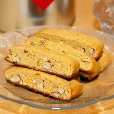 Lchf/ gf saffron biscotti Made with almond flour In swedish
