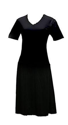 82e084c9ca23 Valair Full Slip Dress for Women - Cotton/Lycra Top, Nylon Bottom, Short  Sleeves at Amazon Women's Clothing store: Bra Lingerie ...