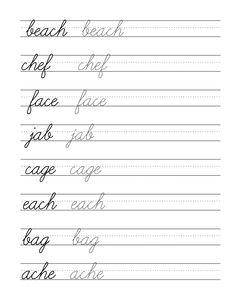 printable cursive writing google search places to visit cursive handwriting cursive. Black Bedroom Furniture Sets. Home Design Ideas