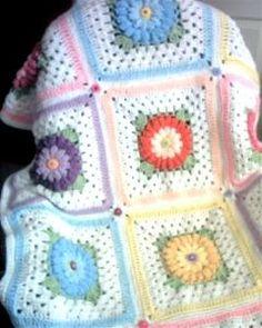 Ryann's Cuddle Cover & Gerbera Daisy Patterns