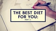Ditch the diet! This is all you need...