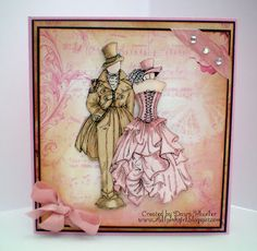 All Pink Girl: Kanban Japser stamps Sand Crafts, Paper Crafts, Paper Art, Kanban Cards, Steampunk Cards, Crafts For 3 Year Olds, Art And Craft Videos, Arts And Crafts House, Dress Card