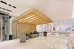 Patchi chocolatier shop by Lautrefabrique Architectes, Ryiadh – Saudi Arabia Design Blog, Store Design, Saudi, Chocolatier, Golden Eagle, Pop Up Shops, Boutique Design, Neoclassical, Retail Design
