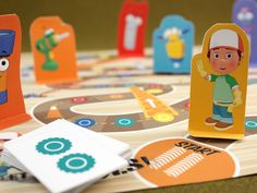 Handy Manny: Big Construction Job  From board games to paper utility trucks, we developed creative and educational content for Disney's award-winning animated series.