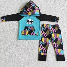 Boy's hoodie outfits - 8-9T