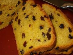 Cornish Saffron Bread - just slather on the unsalted butter and feast!