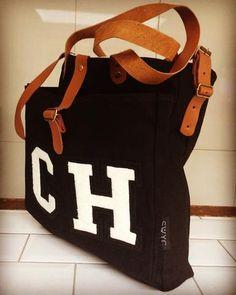 PERSONALISED BLACK TOTE BAG – SWYC