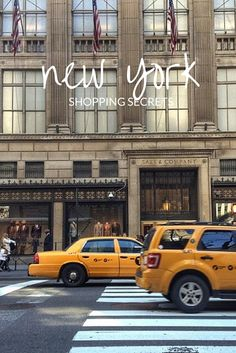 Discover the markets, discount designer stores and book shops loved by New York locals