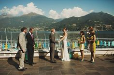 Lake Como Wedding: Laura + Matt... Beautiful View!