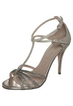 Pura Lopez - Sandaler med høye hæler - gull