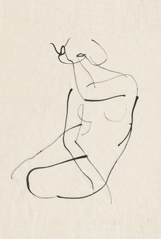 Aurore de La Morinerie minimalist line art figure drawing Gesture Drawing, Life Drawing, Drawing Sketches, Painting & Drawing, Art Drawings, Anatomy Drawing, Rodin Drawing, Drawing Models, Figure Drawings