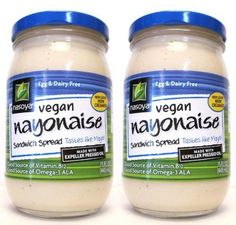 Nasoya Vegan Nyonaise Egg and Dairy Free Sandwich Spread (Pack of 2) 15 oz Jars => Details can be found at : Dinner Ingredients.