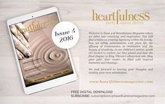 """""""Here is what to expect from Issue 4 of Heartfulness e-Magazine which will be released soon. To subscribe please write to:…"""""""