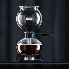 PEBO Vacuum coffee maker, from bodum.com for $80 **Not that I need another coffee maker, but really it makes coffee from a vaccuum that draws out all of the essential oils from the beans and seals the aroma of the brewed coffee... Shut up and take my money! NOW!**