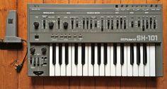MATRIXSYNTH: ROLAND SH-101 Vintage Analogue Synthesizer + Origi...