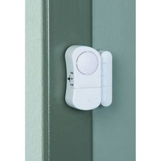 Door/Window Entry Alarm with Magnetic Sensor, Pack of 2