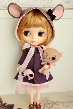 Gingermelon Dolls: Scrappy Bunny and Bear