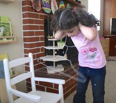 Here's a fun science activity for kids using common household items. Grab some string and a hanger and explore sound!