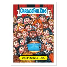 2016 GPK American as Apple Pie in Your Face -Confused ChrisBase Poster - The Not-Scars
