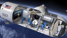 Estación Aurora: el primer hotel situado en el espacio