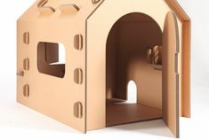 Cardboard house1