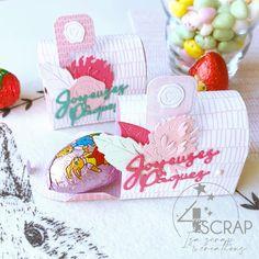 "Isa Scrap Création: #Tampons et #matrices de coupe #dies #4enSCRAP ""#Boite #cadeau"" #scrapbooking Thanking Someone, Mini Albums Scrapbook, Clover Flower, Gift Card Sale, Plastic Sheets, Big Flowers, Tampons, Die Cutting, Cutaway"