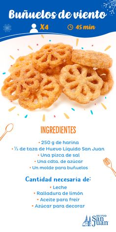 Rosettes Cookie Recipe, Rosette Cookies, Bunuelos Recipe, Mexican Food Recipes, Cookie Recipes, Gourmet Candy, Pan Dulce, Christmas Cookies, Waffles