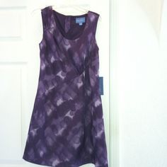Vera Wang Dress purple and lavender color size- 2P Vera Wang Size- 2P this is a very nice dress new never use with the price tag of $78. The colors in the dress is purple and lavender  Vera Wang Dresses