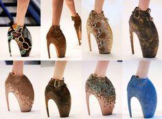 Alexander McQueen [designer]  Armadillo shoes