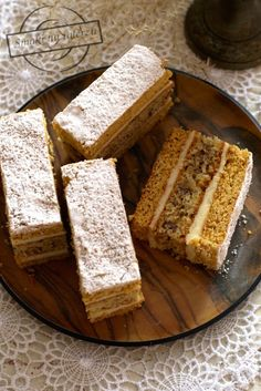 Polish Desserts, Cornbread, Banana Bread, French Toast, Bakery, Dessert Recipes, Food And Drink, Pudding, Cooking
