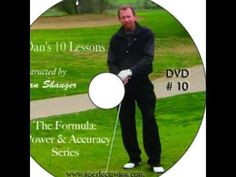 Dan Shauger Master of his (New Golf Swing) Visualization/16 Different Fo...