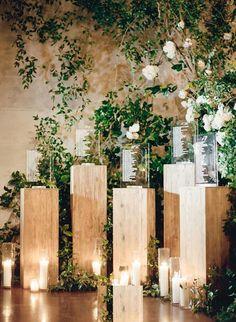 Wedding ceremony seating backdrops Ideas for 2019 Wedding Ceremony Ideas, Wedding Table Garland, Wedding Reception Backdrop, Card Table Wedding, Seating Chart Wedding, Seating Charts, Wedding Reception Decorations, Wedding Centerpieces, Reception Ideas