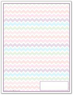 Deep Lilac Zigzag Pattern Printable 2016 Planner Cover Page