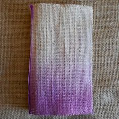 Handmade Fabric Book for Mixed Media, Altered Art, Fiber Art. $8.00, via Etsy.