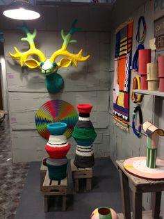 Li Edelkoort's 'Totemism: Memphis meets Africa' exhibition via safarifusion.blogspot.com.au